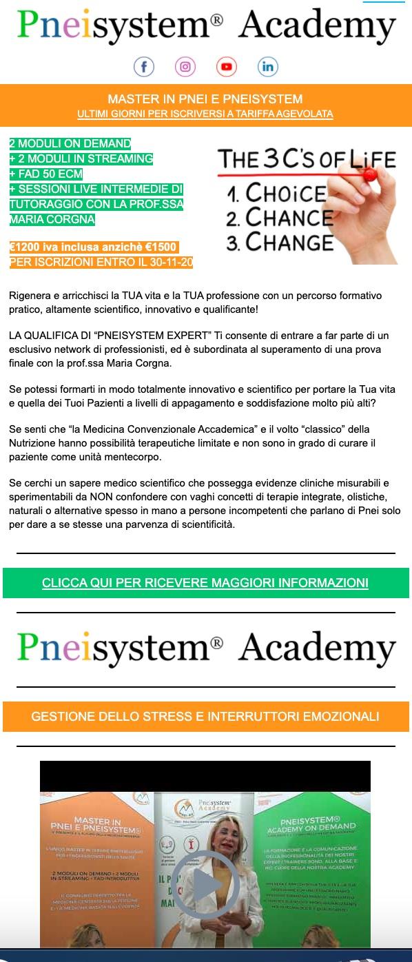 pneisystem academy news